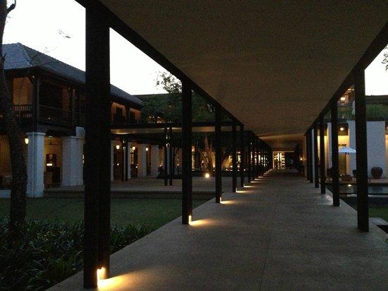 Anantara Chiang Mai Resort: Garten