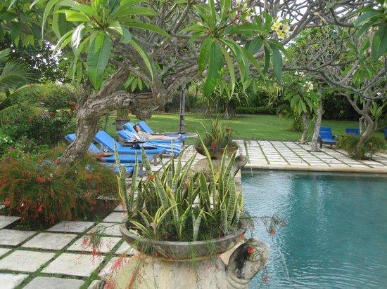 Naya Gawana Resort & Spa: Espace détente à la piscine