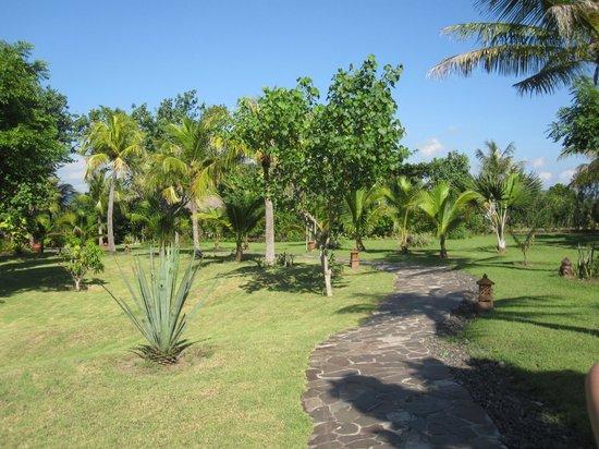 Naya Gawana Resort & Spa: Parc à l'Hôtel