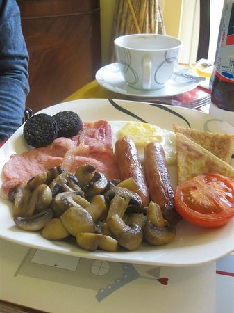 Rest A While:                   One of the Full Irish Breakfast options