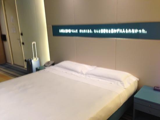 UNA Hotel Bologna: letto!!!