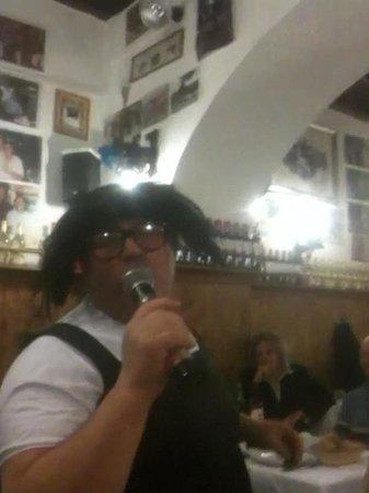 Cencio La Parolaccia: Spettacolo durante la cena!