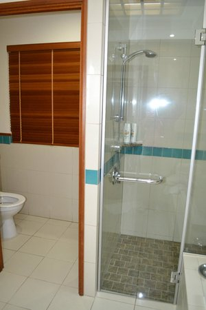Green Island Resort: Shower and  toilet