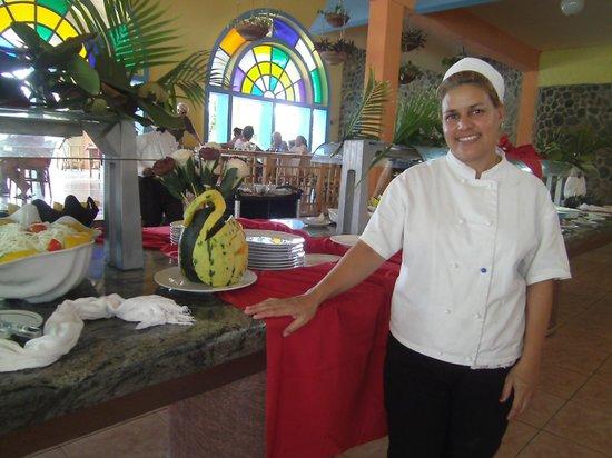 Club Amigo Carisol Los Corales:                   Die Künstlerin