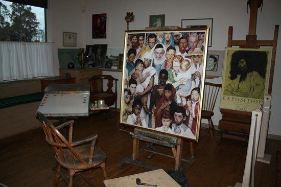 Norman Rockwell Museum: Rockwell's studio