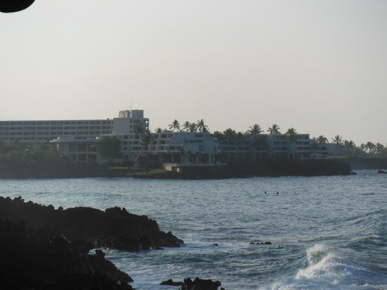 Kanaloa at Kona:                   View from Lanai
