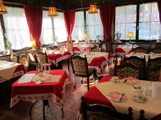 Hotel Restaurant Pfaff:                   breakfast room