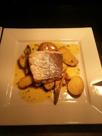 The Smithaleigh Hotel:                   baked hake