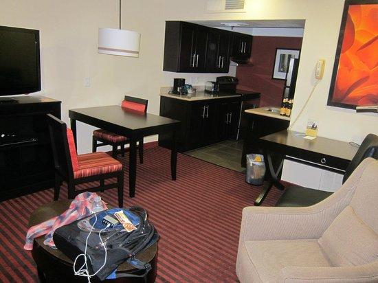 Hyatt Place Dallas/Las Colinas:                   Living room