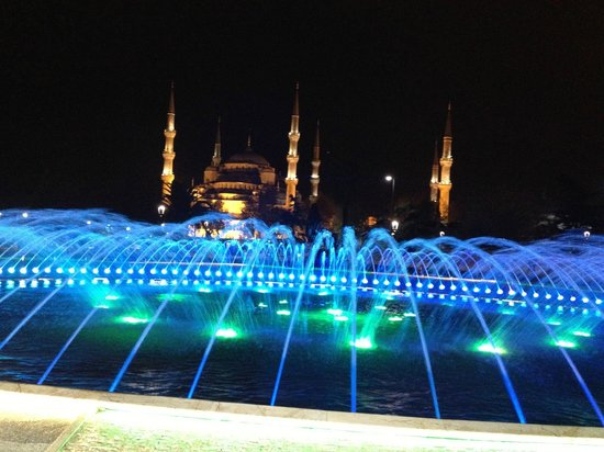 The Blue Mosque is away from the Celal Sultan Hotel