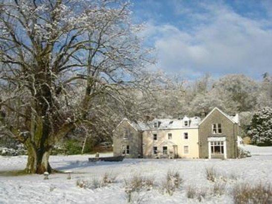 Kilcamb Lodge Hotel & Restaurant : Kilcamb Lodge in the snow