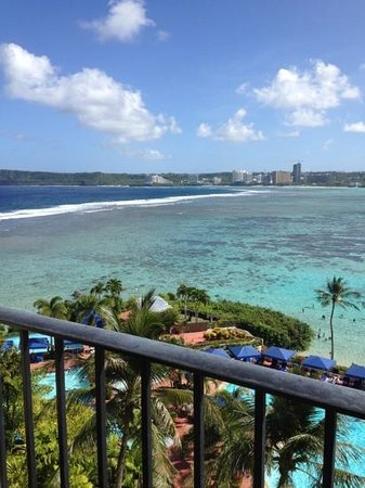 Hilton Guam Resort & Spa:                   View from Seventh Floor Balcony