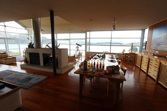 Whare Kea Lodge & Chalet: Dining room