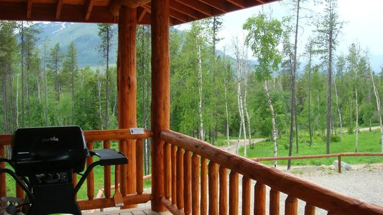 Glacier Raft Company:                   one of the views from the ridgetop retreat