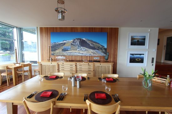Whare Kea Lodge & Chalet : Dining room