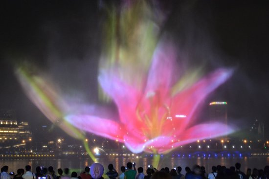 Wonder Full Light and Water Show:                   Video Projection - Singapore Wonder Full show