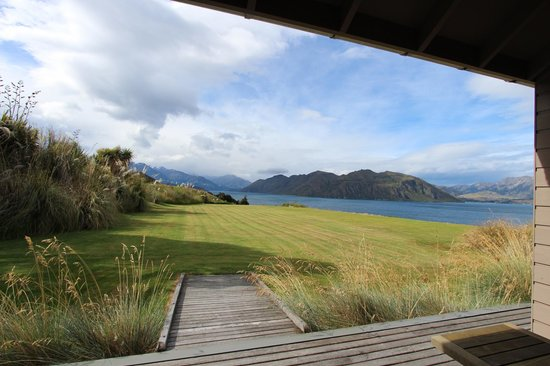 Whare Kea Lodge & Chalet : View from the room