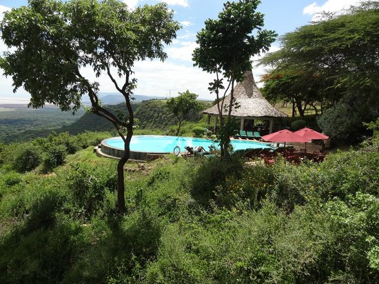 Lake Manyara Serena Lodge: View from balcony