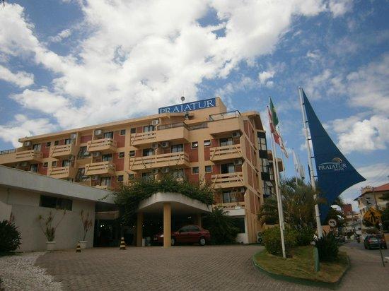 Praiatur Hotel Florianopolis: 1 Ingleses-Praiatur: Fachada principal