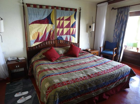 Lake Manyara Serena Lodge: Clean & comfortable bedroom