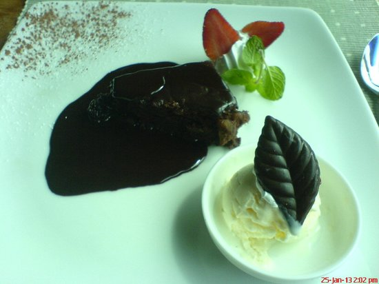 Colombo Court Hotel & Spa: Chocolate Brownie