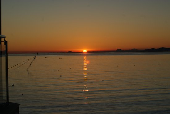Hotel Benikaktus: coucher de soleil