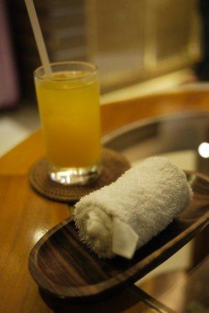 Kakiang Bungalows:                   迎賓飲料