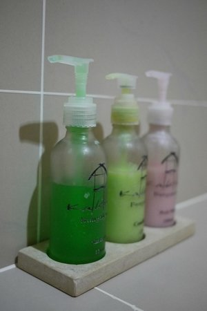 คาเคียง บังกะโลว์:                   沐浴用品
