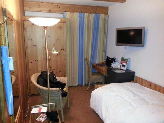 Sunstar Alpine Hotel Davos: Ein Einzelzimmer