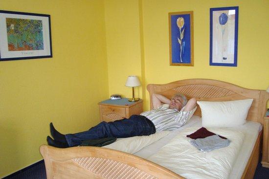 Hotel Villa Seeschlösschen:                   Mittagspause zwischen zwei Strandgängen