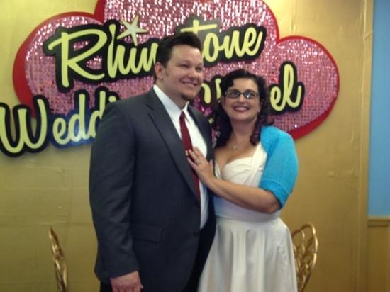 Rhinestone Wedding Chapel : mr and mrs