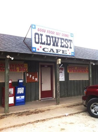 Old West Cafe #4: Country road to the place..OLDWEST