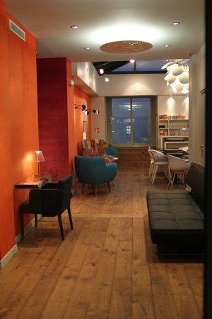 Hotel Basile: Lobby / entrance