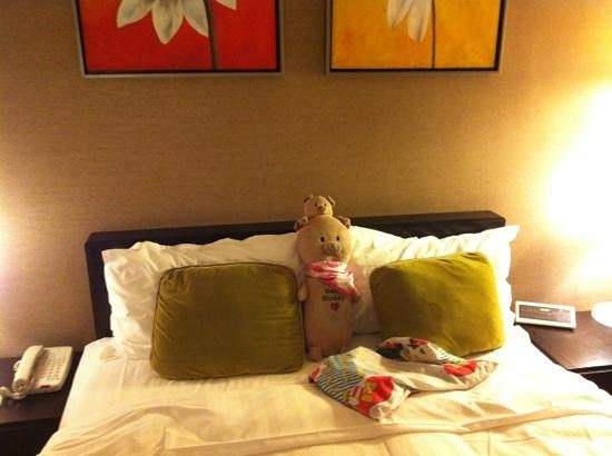 Park Hotel Hong Kong:                   bed queen size