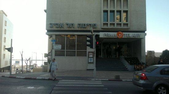 Hotel Prima Tel-Aviv:                   вход в отель