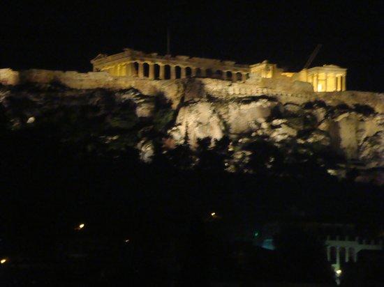 Plaka Hotel: vista desde la terraza