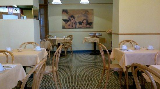 Hotel Le Grazie: sala colazioni 1