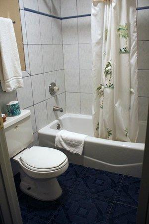 Mt. Whitney Motel: Mt Whitney bathroom