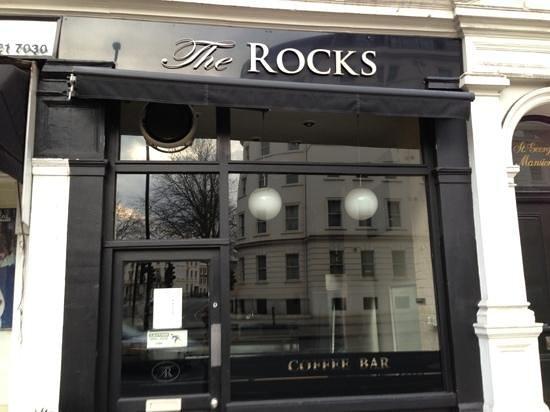 The Rocks: cafe entrance