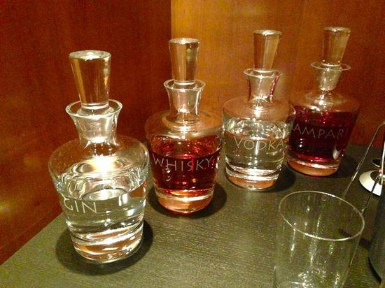 Grand Hyatt Berlin: drinks included in suites
