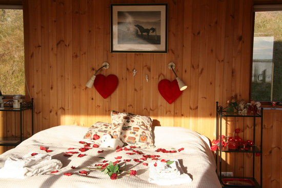 Guesthouse at Hestheimar: Romantic cottage at Hestheimar