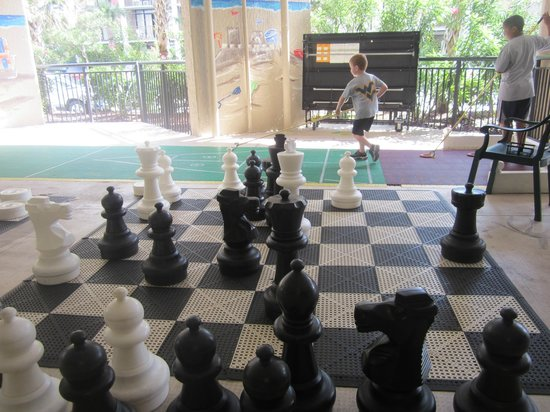 Ocean Reef Resort: Shuffleboard or Chess anyone