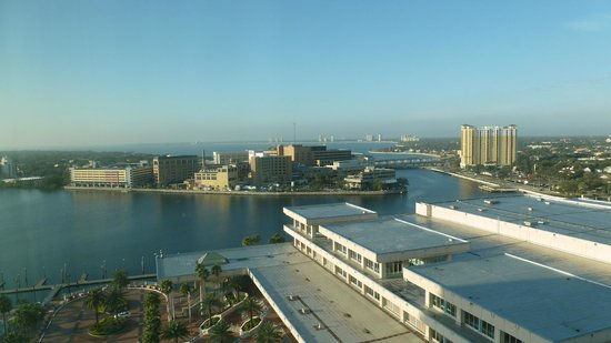 Embassy Suites by Hilton Tampa - Downtown Convention Center:                   View of Tampa bay front from Embassy Suites north tower