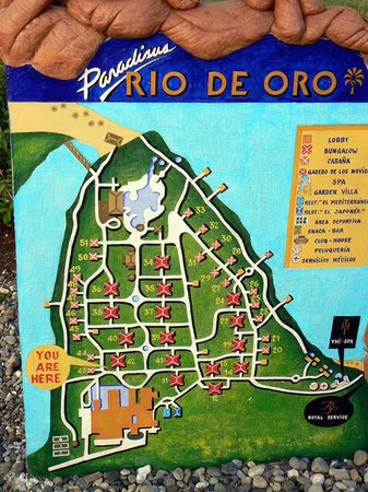 Paradisus Rio de Oro Resort & Spa:                   Схема отеля                 