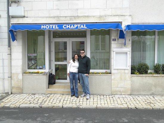 Hotel Chaptal :                   Entrada
