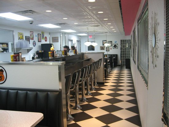 Penny's Diner Counter Seats
