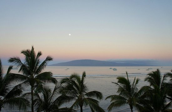 Lahaina Shores Beach Resort: 5 am Ocean View
