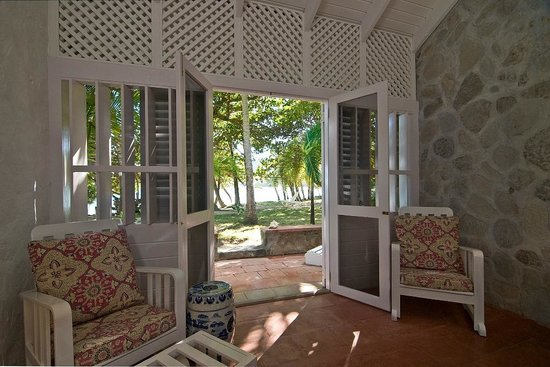 Sugar Reef Bequia: View from Mustique Room at Sugar Reef's Beach House