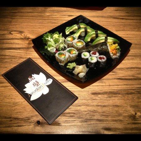 Jorudan Sushi: piatto tutto vegetariano
