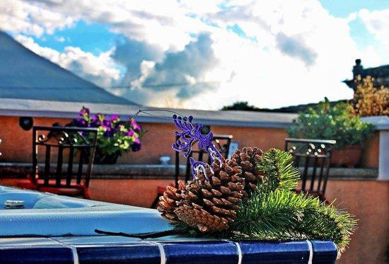 D'Leyenda Hotel: Navidad 2012 desde la Terraza